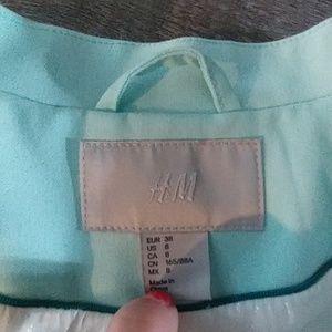 H&M Jackets & Coats - Mint blazer